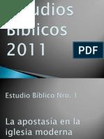 Apostasia en La Iglesia Moderna.