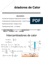 Tema 7 - Intercambiadores de Calor