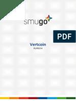 Report Vertcoin 20140301