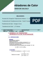 Tema 7 - Intercambiadores de Calor Método de Cálculo