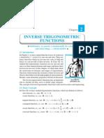 Inverse Trigonometric Functions Ch_2