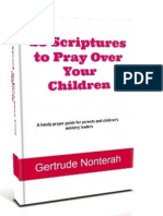 25 Scriptures to Pray Over Your Children