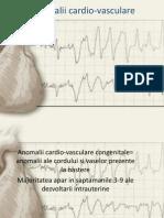 Anomalii Cardio Vasculare