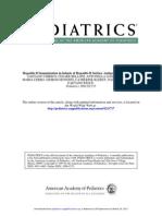 Hepatitis B Immunization in Infants of Hepatitis B Surface Antigen-Negative Mothers