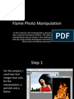flame photo manipulation