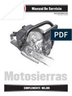 Manual Full despiece y reparacion Motosierras y Motoguadañas