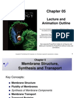 Ch5 Cell Membranes