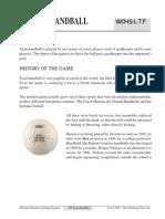 team handball information