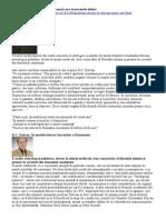 Prof Dr Dumitru Constantin Dulcan - Omul care transcende stiinta(interviu)sursa