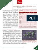 NT Manejo de La Fertilizacion Del Maiz