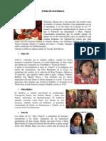 ETNIAS de GUATEMALA 22 Con Imagen Resumido
