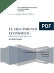 Proyecto de Macroeconomia - Crecimiento Economico - Luis Cuello - Martha Mora - Angelica Castiblanco