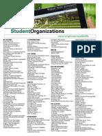 student organizations-ncaa list