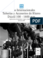Tuberia de Hierro Ductil Especificaciones