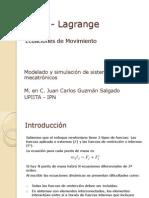 009- Modelado Fisico Euler - Lagrange