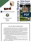 2013/2014 Course Catalog