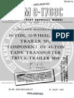 TM_9-1768C_45-ton,_12-wheel_Trailer_M9,_Etc_1945