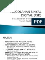 Pengolahan Sinyal Digital Psd