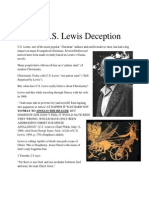 The C.S. Lewis Deception -- The Author of Narnia and His Pagan Beliefs (The Dark Side of C.S. Lewis)