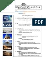 Cornerstone Vision Draft