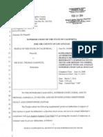 Michael Gargiulo Prosecution Motion to Quash Subpoenas Duces Tecum