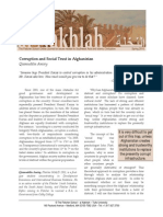 Amiry - Corruption and Social Trust in Afghanistan