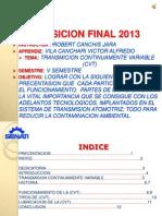 CAJA DE CAMBIOS AUTOMÁTICAS (CVT)