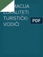 DALMACIJA LOKALITETI TURISTIČKI VODIČI (1.-224.)
