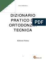 Dizionario Di Ortodonzia Tecnica