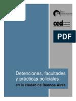 CELS - Detenciones _ Facultades y Practicas Policiales en Buenos Aires Argentina