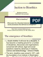 Bioethics 1