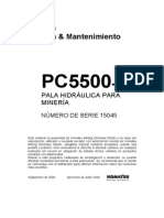 PC5500 SN 15045 Operation and Maintenance Spanish