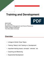 13 Training and Development