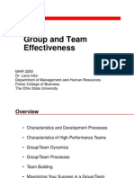 7 Group and Team Effectiveness (Shortened)