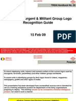 US Army TRADOC Terrorist Insurgent and Militant Group Logo Recognition Guide 15 Feb 09