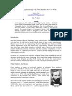 Primecoin Paper