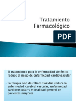 Tratamiento Farmacológico HTA