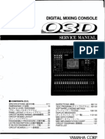 Yamaha 03d Service manual