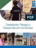 Desastres Riesgo y Desarrollo en Honduras