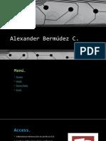Alexander Bermúdez C