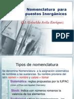 Nomenclatura Inorganica PRESENT