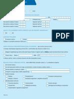 DINERS- Zahtjev Za Otkaz Okvirnog Ugovora o Izdavanju i Koristenju Kartice