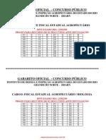 Consulplan Gabarito Oficial Concurso Publico Idiarn Nov5404