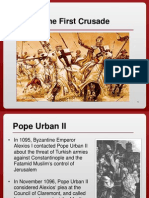 the first crusade powerpoint
