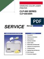 Samsung CLP500N