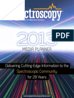 spectroscopy media plan