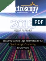 spectroscopy media plan