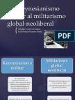 Del Keynesianismo Militar Al Militarismo Global-neoliberal