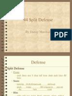 44 Split Defense by Danny Marshall