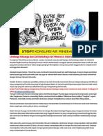 Lindungi Keluarga Dari Zat Berbahaya Air Mineral & Odol Ber-Flouride